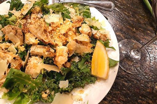 Chick-fil-a Lemon Kale Caesar Salad Copycat Recipe: This Lemony Kale Chicken Salad Recipe Was Made for Summer