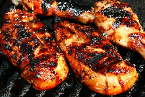 Chicken Breast Recipes: Easy Grilled Chicken Breasts With Balsamic-Honey Glaze Recipe