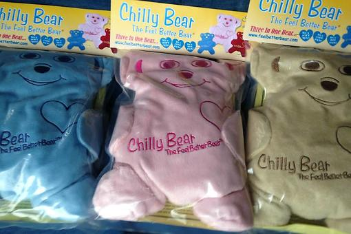 Chilly Bear: Feel Better Bear Soothes Kids' & Adults' Aches & Pains Safely!