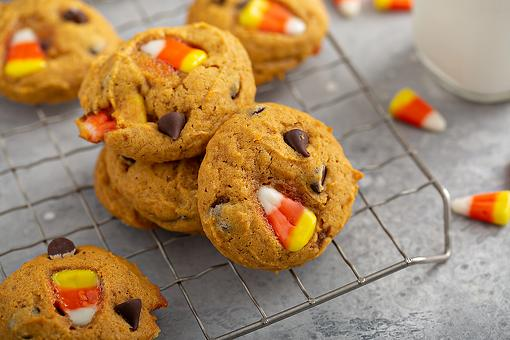 Chocolate Chip Candy Corn Cookies Recipe: A Fall Cookie Recipe With That Candy You Either Love or Hate