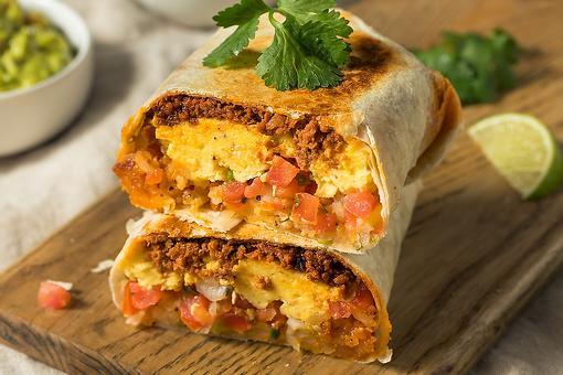 Breakfast Burrito Recipe: Wake Up With This Chorizo & Egg Breakfast Burrito Recipe