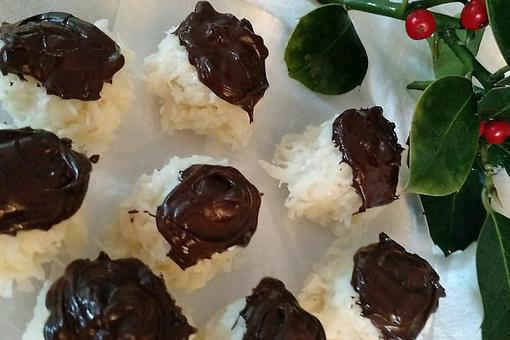 ​Coconut Drop Refrigerator Candy: Bet You Can't Eat Just One of These Homemade Candies