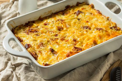 5-Ingredient Breakfast Comfort Casserole: Invite This Egg Casserole Recipe to Your Next Gathering