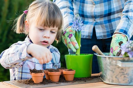 Container Gardening: How & Why to Let Kids Create & Tend to Their Own Flower Pots
