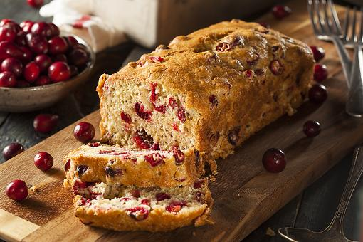 Cravin' Cranberries? How to Make Cream Cheese Cranberry Bread!