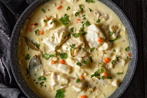 Creamy Cod Chowder Recipe: Grab Crusty French Bread, Wine & Invite Friends Over for This Easy Fish Stew Recipe