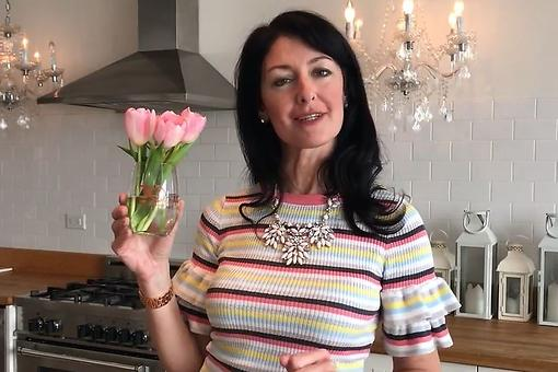 Creative Ways to Use Wine Glasses: Debi Lilly Shares Her Fun Home Decorating Idea Using Stemless Wine Glasses