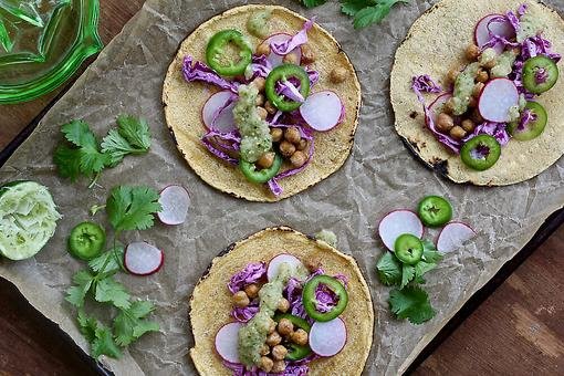 Vegetarian Tacos: This Cumin Chickpea Taco Recipe Lightens Up Taco Night