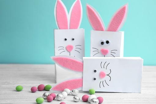 DIY Easter Bunny Bags: Hop Right to It & Make This Easy Easter Craft With Your Kids