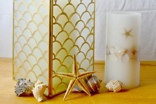 DIY Home Decor: How to Make a Pottery Barn-Inspired Capiz Lantern