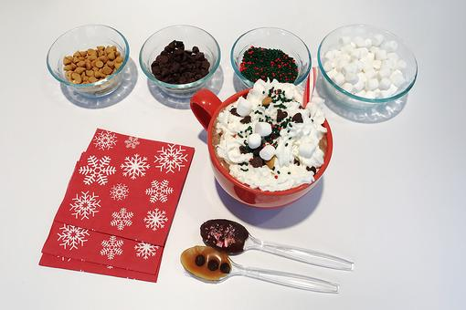 DIY Hot Chocolate Bar: Perfect When the Weather Outside Is Frightful!
