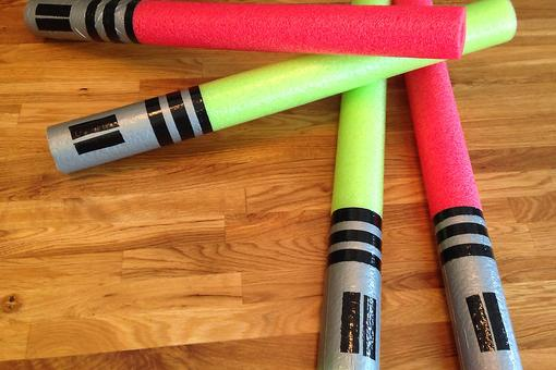 DIY Lightsabers for Your Little Jedi: Kid-Friendly & Economical!