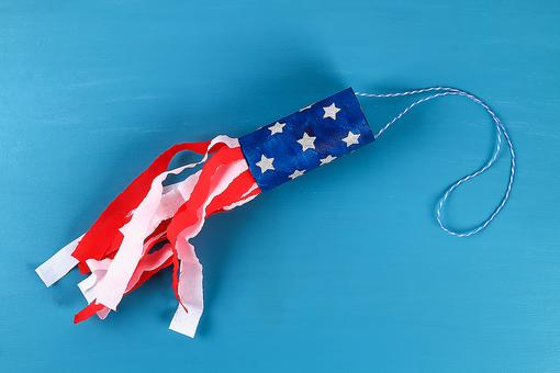 DIY Patriotic Windsock Craft for Kids: A Fun Way to Fly the Stars & Stripes on July 4th