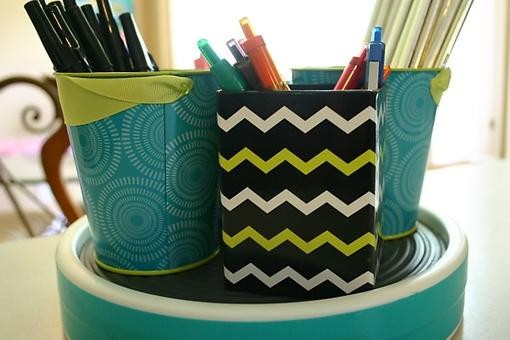 DIY Storage Solution: Time-Saving Organization for the Home Office, School Lockers, Bathrooms & More!