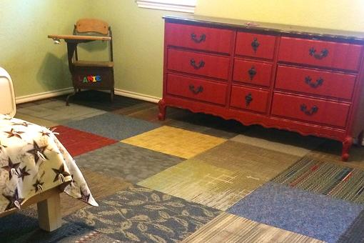 How to Replace Carpet on a Budget: There's Nothing Square About This DIY Carpet Solution!