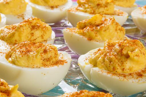Dijon Deviled Eggs Are the Perfect Snack or Appetizer