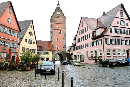Dinkelsbühl: One of the Last Walled Towns on the Romantic Road in Germany
