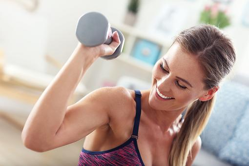 Don't Be Afraid of Dumbbells: Hand Weights Are a Smart Way to Exercise