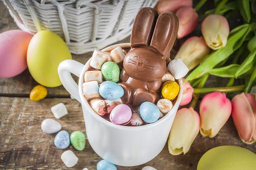 Leftover Easter Candy Ideas: This Easter Hot Chocolate Recipe Is a Fun Way to Use That Chocolate Bunny