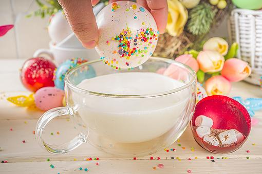 DIY Hot Chocolate Bombs: This Easy Hot Chocolate Bombs Recipe Using Leftover Easter Candy Will Make You Hoppy