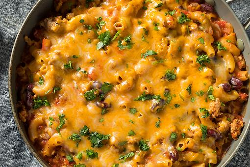 Homemade Chili Mac Recipe: Make This Cheeseburger Macaroni Skillet Recipe Once & You'll Toss That Box