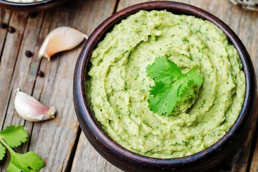 Easy Hummus Recipes: This Creamy White Bean Hummus Recipe With Avocado & Cilantro Bucks Tradition