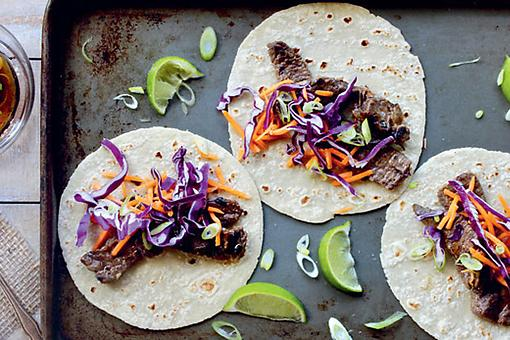​Easy Korean BBQ Beef Tacos Recipe: This Delicious Korean Barbecue Beef Taco Recipe Celebrates Asian Flavors