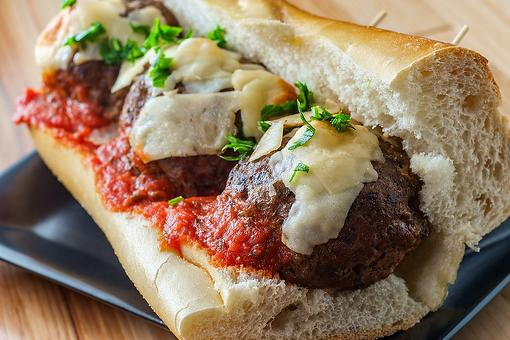 Crazy Good 5-Ingredient Meatball Sandwich Recipe That'll Fill You Up on Sandwich Night