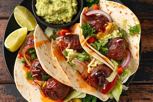 Easy Meatball Tacos Recipe: This Meatballs Taco Recipe Is a Taco Night Twist You Didn't See Coming