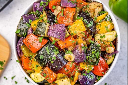 Clean-Eating Roasted Vegetables Recipe: Colorful Roasted Mixed Vegetables Brighten Up Any Meal