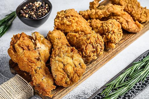 Easy Rosemary Fried Chicken Recipe: The New Way to Fry Chicken