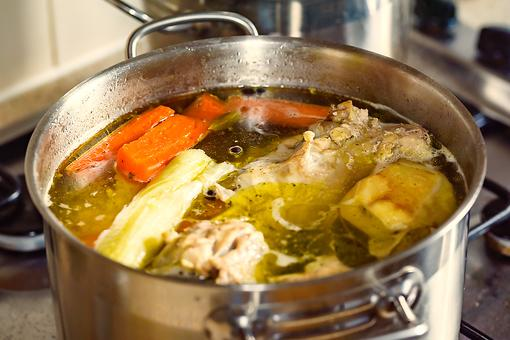 How to Make Savory Rotisserie Chicken Broth From Your Leftovers!