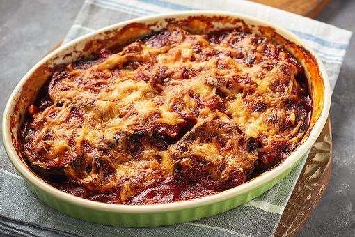 Freakin' Good Eggplant Casserole Recipe: This Easy Casserole Recipe Is Eggplant Parmesan With a Twist