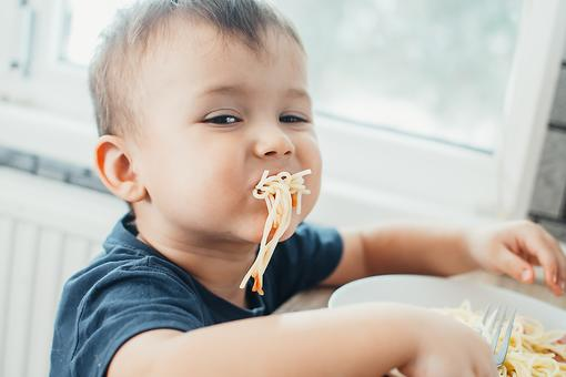 Forget the Fork: Parents, Try to Survive the Mealtime Melee With Some Humor!