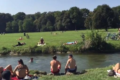 Find Adventure (and Maybe Some Nude Sunbathers) at the English Garden In Munich, Germany!