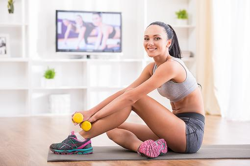 Fitness at Home: 4 Steps to a Great Workout Without Leaving the House!