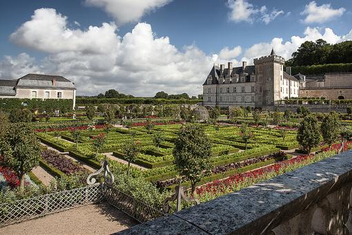 Gardens in France: Walk Through Villandry, the Chateaux of the Loire Valley