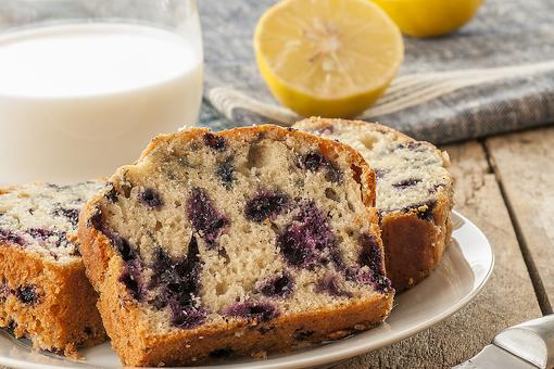 Gluten-Free Blueberry Loaf Cake: How to Make a Luscious Grain-free Blueberry Lemon Cake