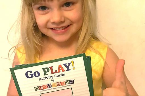 "Go Play! Activity Cards: A Fun Learning Tool for Kids' Playtime That Earned the 30Second Mom ""Loves This"" Award!"