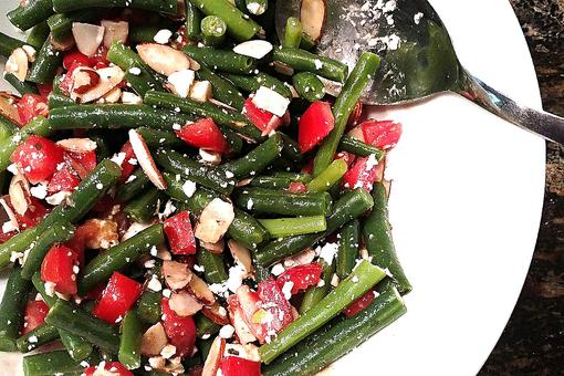 Lighten Up With This Green Bean, Tomato & Feta Salad Recipe
