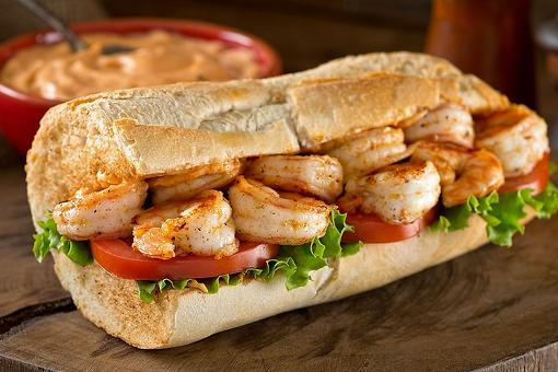 Grilled Shrimp Po' Boys Recipe: This Easy Cajun Sandwich Recipe Will Transport You to Louisiana