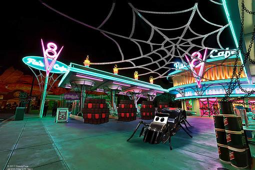 Halloween at Disneyland: Thrills & Villainous Décor Cast a Spell at Disney California Adventure Park
