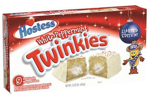 Hostess Recalls Holiday White Peppermint Twinkies Due to Health Risks