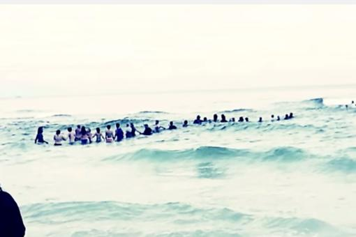 Human Chain Rescue: House Divided Comes Together to Save Family Caught in Riptide
