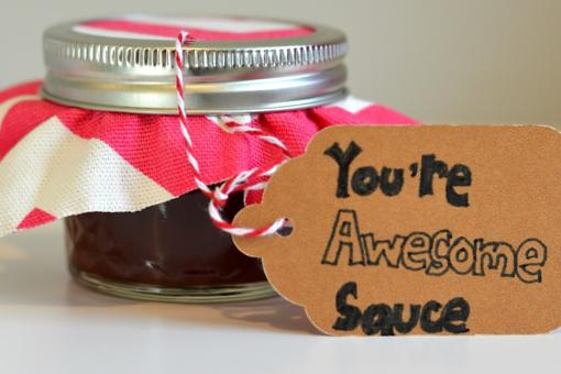How to Make Awesome Sauce: This Easy BBQ Sauce Recipe Makes an Awesome Valentine's Day Gift