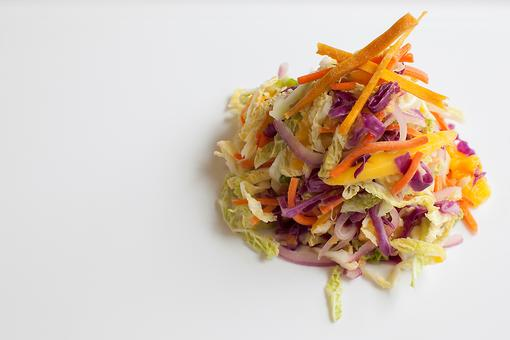 How to Make Mango Coleslaw (No Trip to Jamaica Required, But...)!