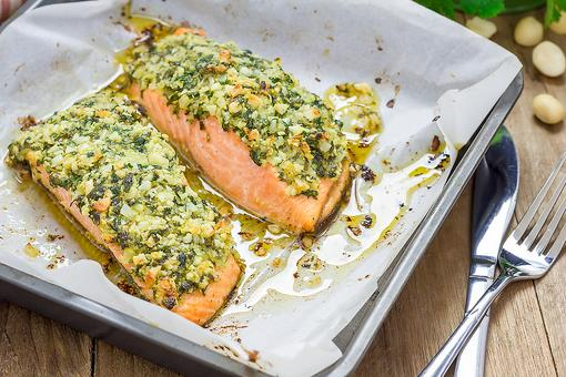 Pistachio-Crusted Salmon Is Ready in Less Than 30 Minutes