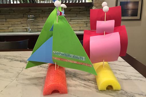 How to Make Pool Noodle Sailboats: A Fun & Economical Craft for Kids