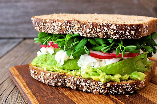 How to Make a Satisfying Superfoods Sandwich (It's Vegetarian, Too!)