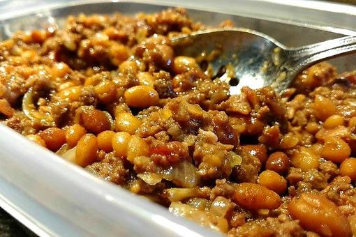 Super Bowl® Side Dishes: The Best Texas-Style Chuckwagon Beans Recipe (aka Meat Beans)